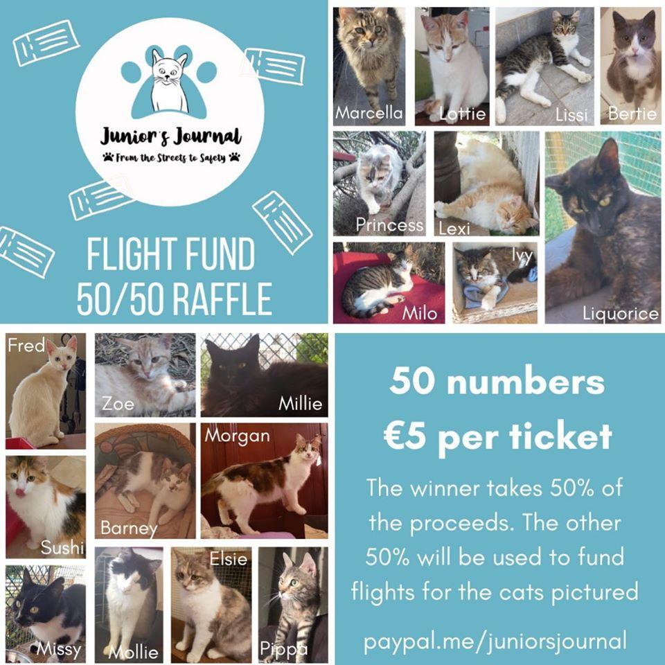 Junior's Journal Flightfund Raffle