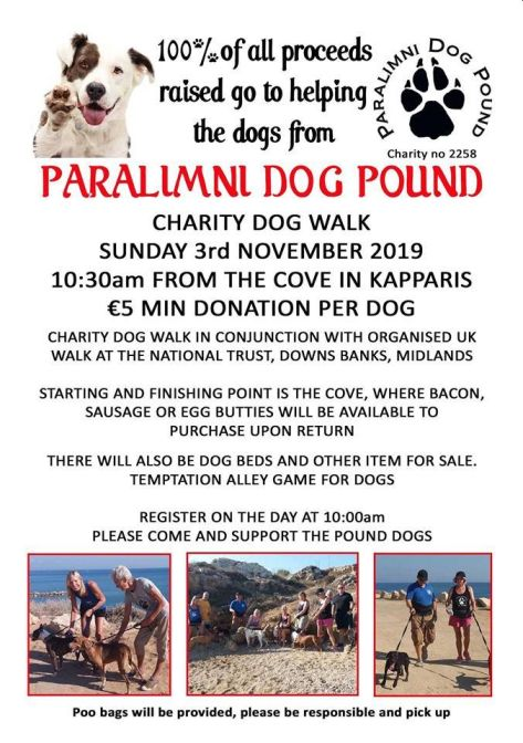Paralimni Dog Pound Charity Walk